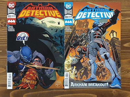 Detective Comics #1003-1004