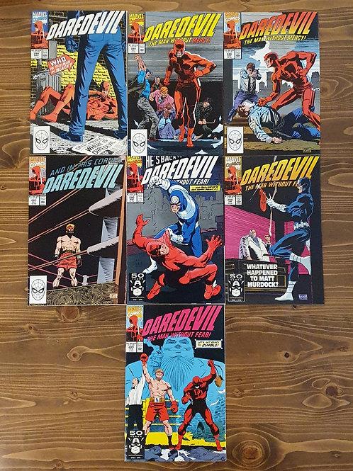 Daredevil #284-290 Set