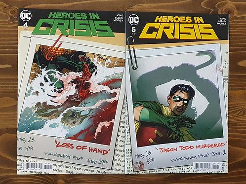 Heroes In Crisis #4-5