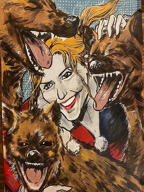 Bora Arslanbulut Harley Quinn Çizim