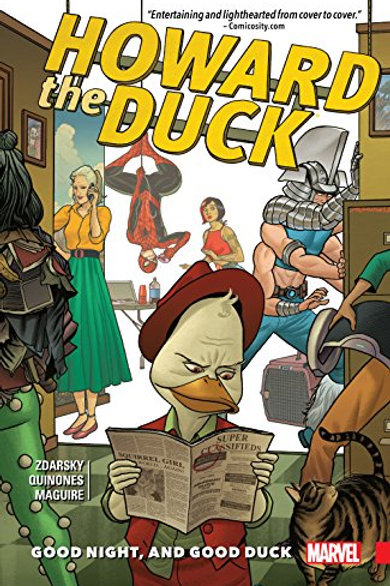 Howard the Duck Volume 2: Good Night, and Good Duck