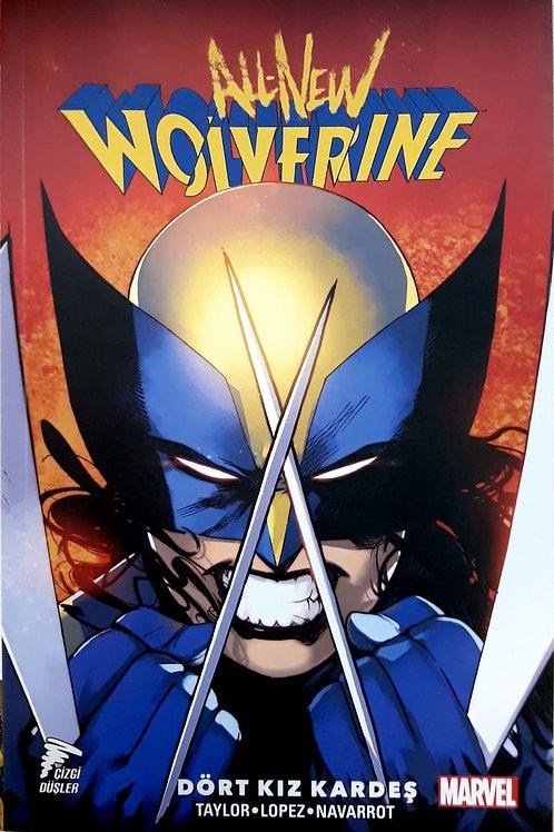 All New Wolverine Cilt 1 Dört Kız Kardeş