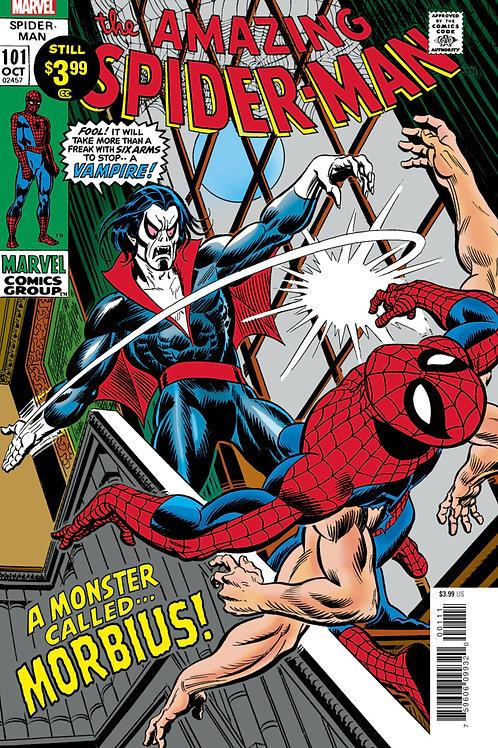 Amazing Spider-Man #101: Facsimile Edition