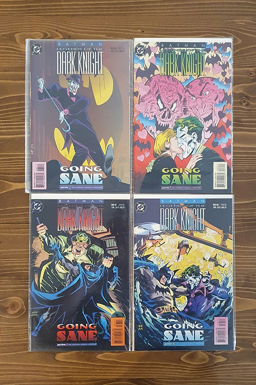 Batman Legends of the Dark Knight #65-66-67-68 Tam Set