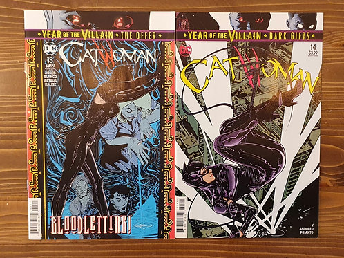 Catwoman #13-14