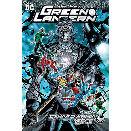 Green Lantern Cilt 11 En Karanlık Gece Cilt 2