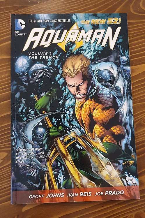 Aquaman Volume 1 The Trench