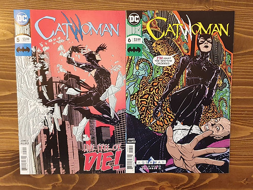 Catwoman (2018) #5-6