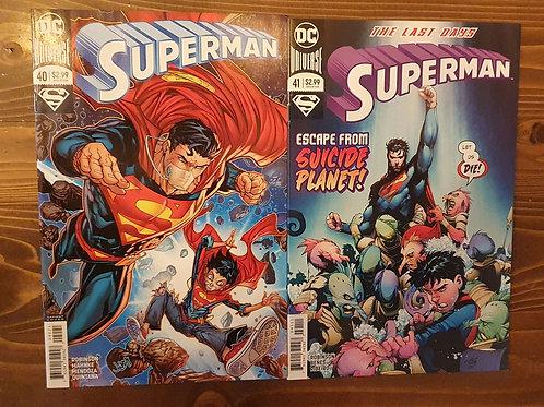 Superman (2016) #40-41