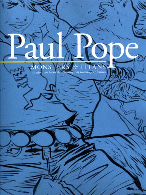 Paul Pope Monsters & Titans Battling Boy Art On Tour