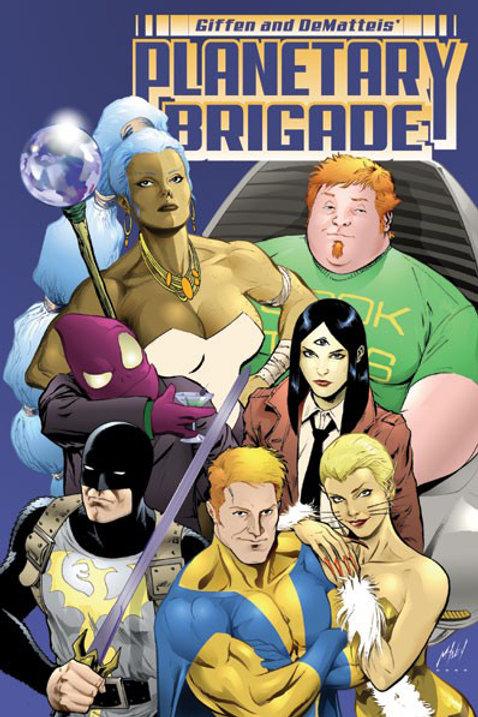 Planetary Brigade Volume 1