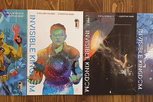 Invisible Kingdom #7-8-9-10