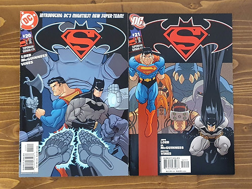 Superman Batman (2003) #20-21 Set