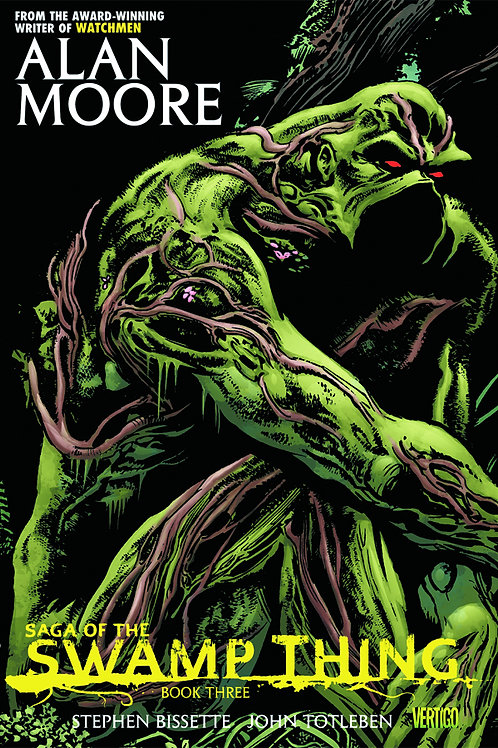 Alan Moore's Saga of the Swamp Thing Book 3