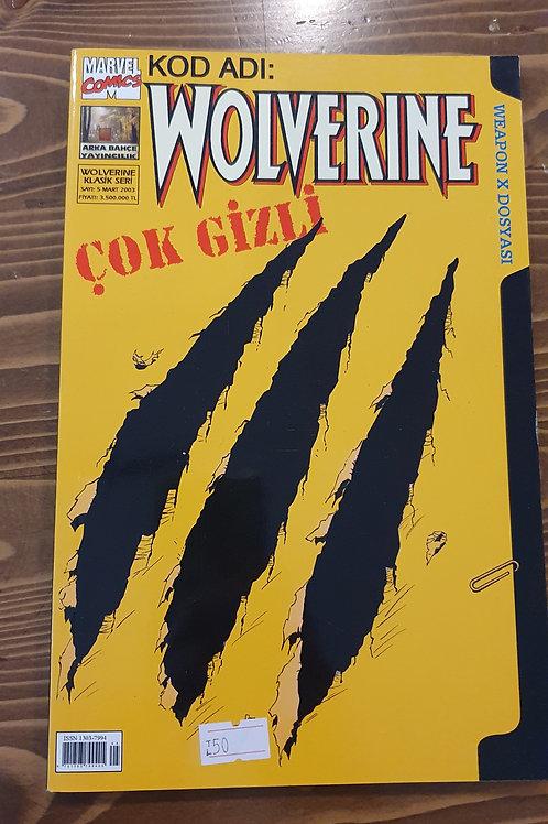 Wolverine Klasik Seri Sayı 5