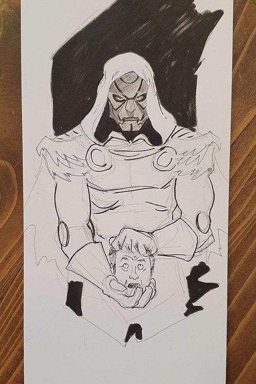Uğur Gürtekin - Doctor Doom Çizim