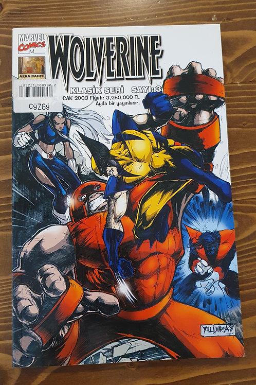 Wolverine Klasik Seri Sayı 3