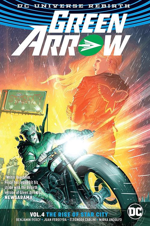 Green Arrow Rebirth Volume 4 :The Rise of Star City