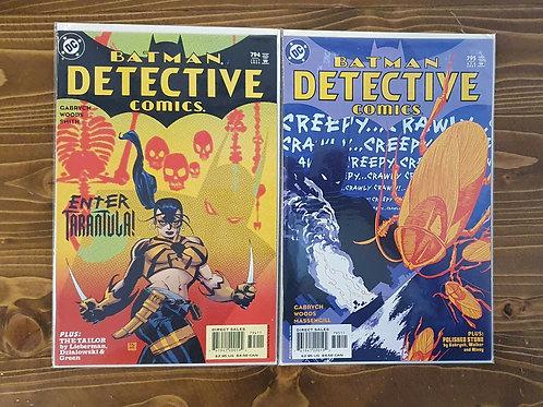 Detective Comics #794-795 Set