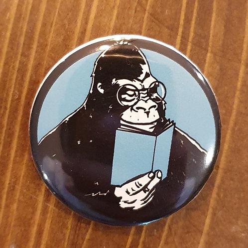 Goril Çizgi Roman Pin