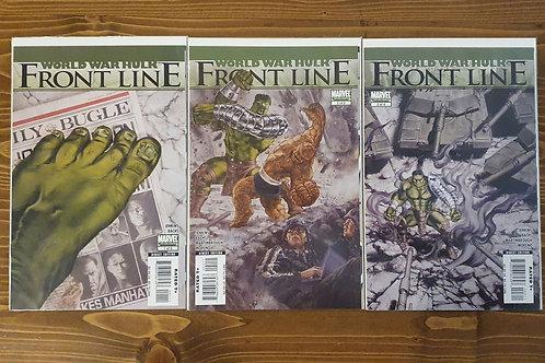 World War Hulk Frontline #1-2-3 Set