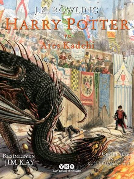 Harry Potter ve Ateş Kadehi Resimli