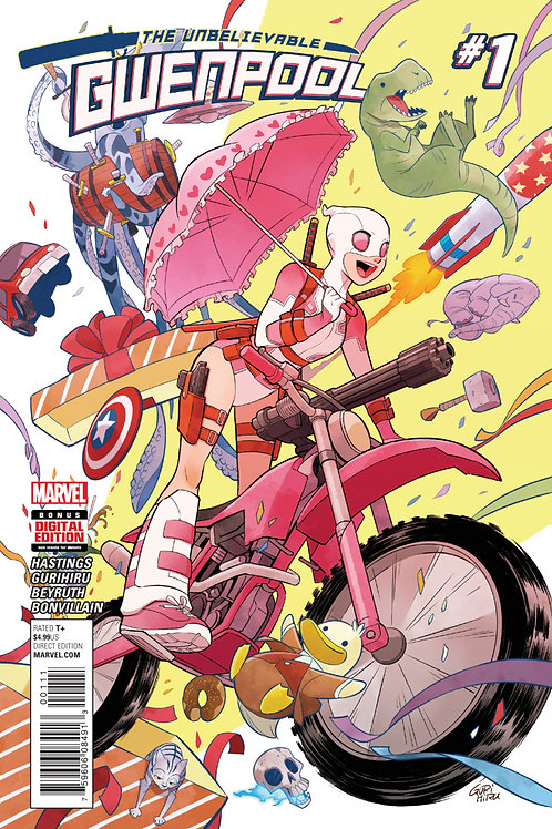 The Unbelievable Gwenpool #1