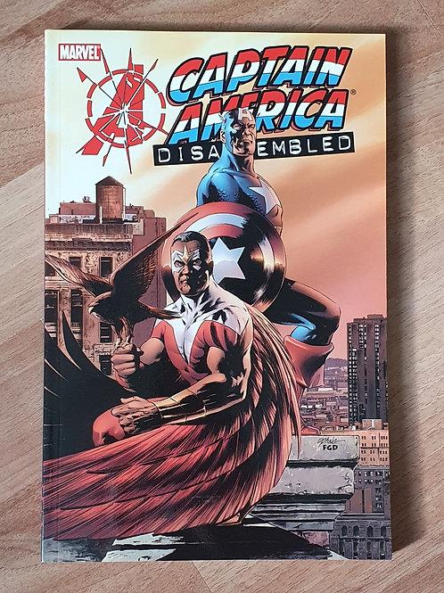 Avengers Disassembled Captain America