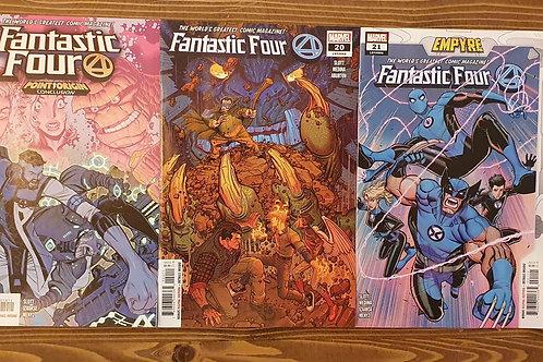 Fantastic Four (2018) #19-20-21
