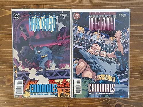Batman Legends of the Dark Knight #69-70 Tam Set