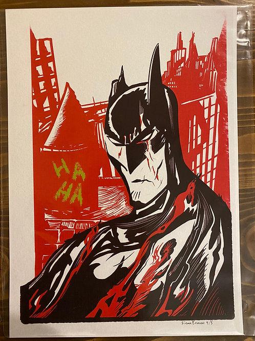 Sinan Eronat Batman Baskı