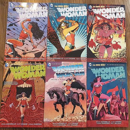 Wonder Woman New 52 Volume 1-6