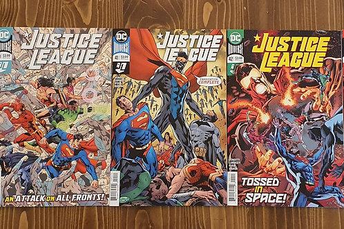 Justice League #39-40-41-42-43