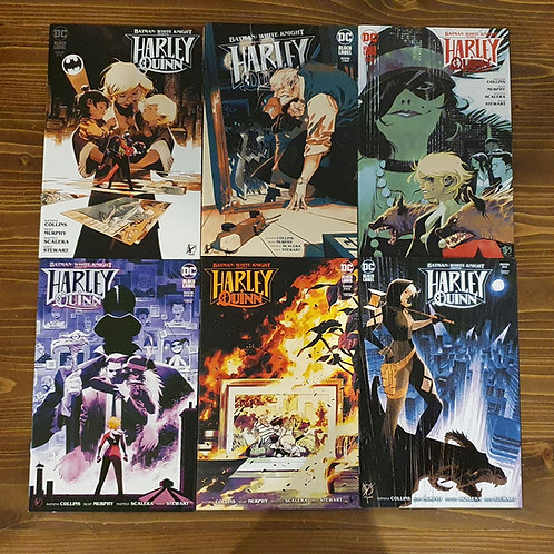 Batman: White Knight Presents Harley Quinn 1-2-3-4-5-6 Tam Set