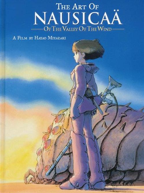 Art of Nausicaa of Valley of Wind HC
