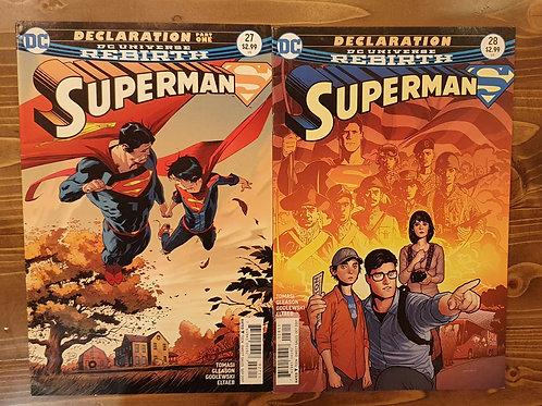 Superman Rebirth #27-28