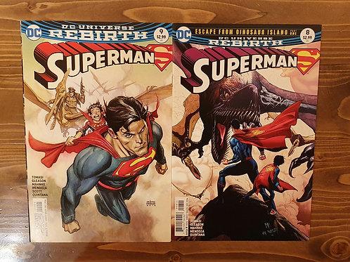 Superman Rebirth #8-9