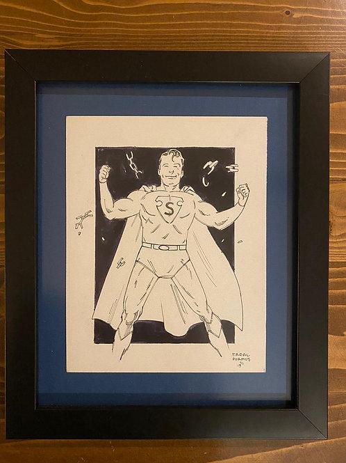 Erdal Durmuş Superman Çizim