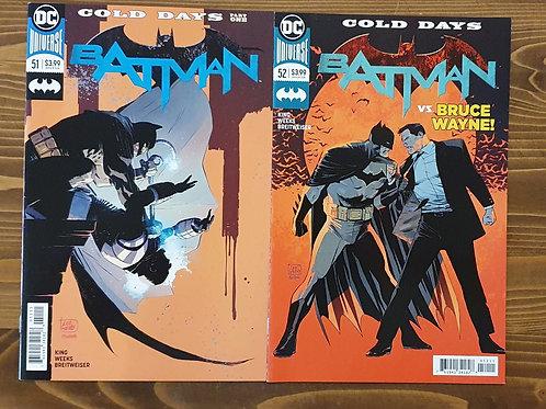 Batman Rebirth #51-52