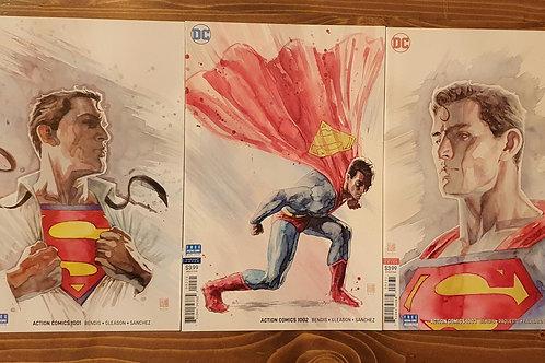 Action Comics (2018) #1-2-3 David Mack Variant