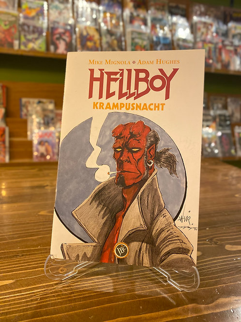 Hellboy Boş Kapak - Yiğit Bayram/Tahir Aksoy Orijinal Sanat