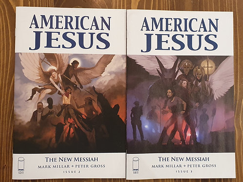 American Jesus #2-3