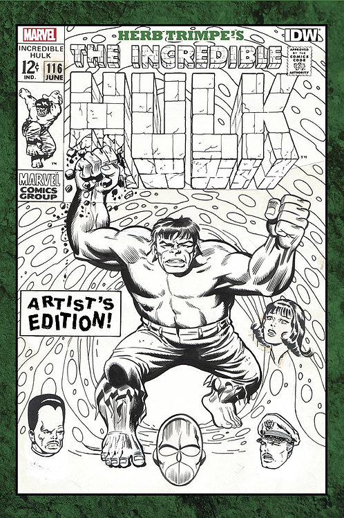 Herb Trimbe's The Incredible Hulk Artist's Edition
