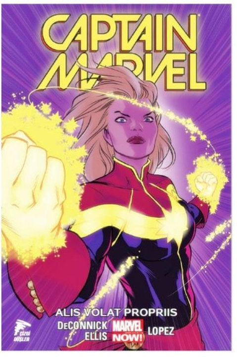 Captain Marvel Cilt 3 Alis Volat Propriis
