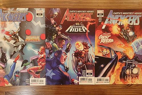 Avengers (2018) #23-24-25