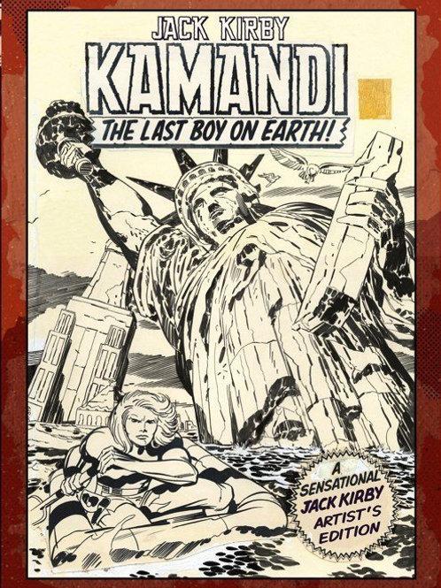 Jack Kirby's Kamandi, The Last Boy on Earth, Vol. 1: Artist's Edition HC