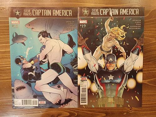 Steve Rogers Captain America #18-19