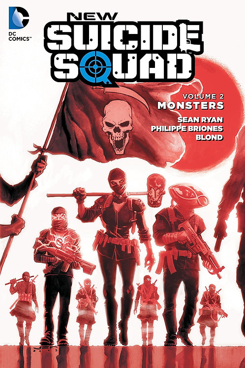 New Suicide Squad Volume 2 Monsters