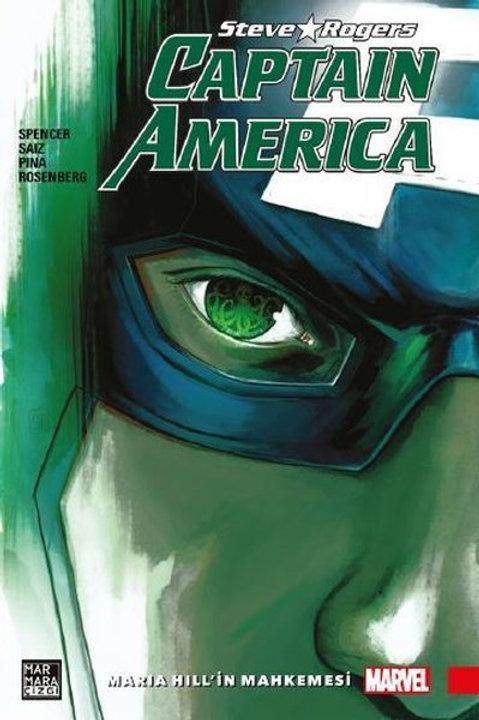 Captain Amerika Steve Rogers Cilt 2 Maria Hill'in Mahkemesi