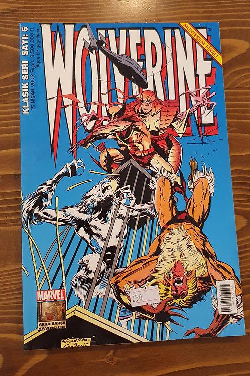 Wolverine Klasik Seri Sayı 6